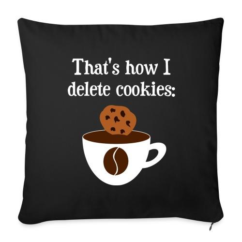 Cookies Kaffee Nerd Geek Sonstige - Sofakissenbezug 44 x 44 cm