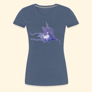 mystic swan - Frauen Premium T-Shirt