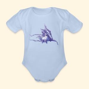 mystic swan - Baby Bio-Kurzarm-Body
