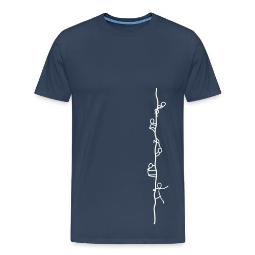 chalk - Männer Premium T-Shirt
