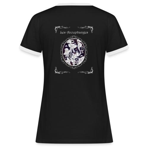 T-shirt contraste Femme Acouphanges - T-shirt contrasté Femme