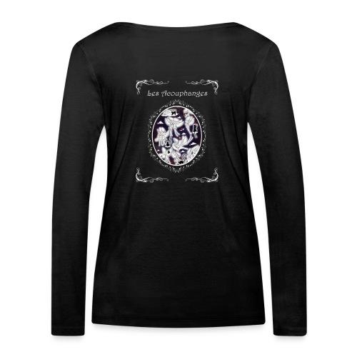 T-shirt manches longues bio Femme Acouphanges - T-shirt manches longues bio Stanley & Stella Femme