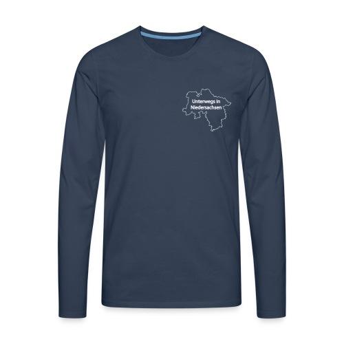 Langarm T-Shirt Unterwegs in Niedersachsen - Männer Premium Langarmshirt