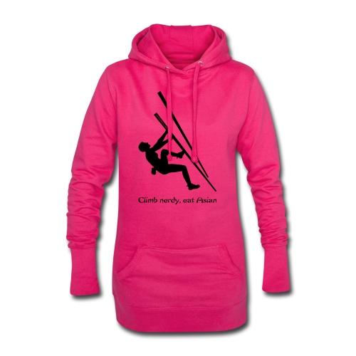 Ladies hoodie dress with logo - Hoodie Dress