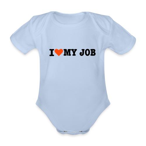 a baby job - Økologisk kortermet baby-body