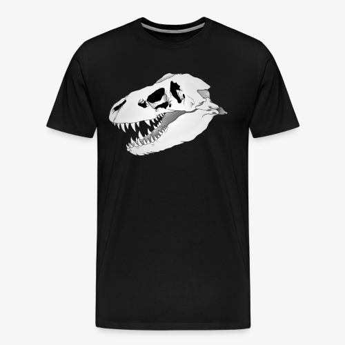 Dino Skull Tee - Men's Premium T-Shirt