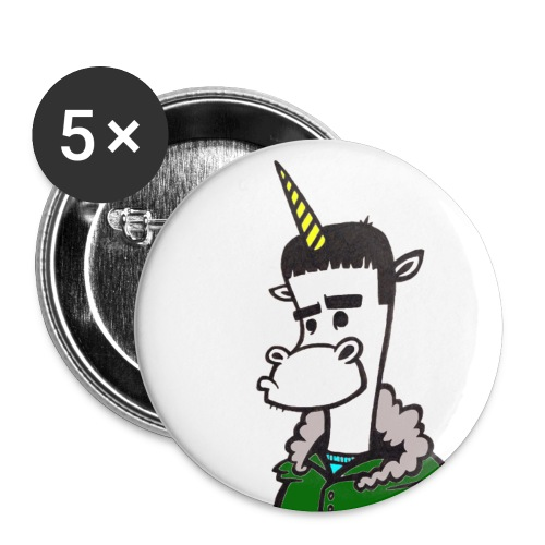 Button badge - FIVE PACK - Buttons small 1''/25 mm (5-pack)