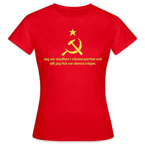 T-shirt dam, Vänsterpartiet Kommunisterna - T-shirt dam