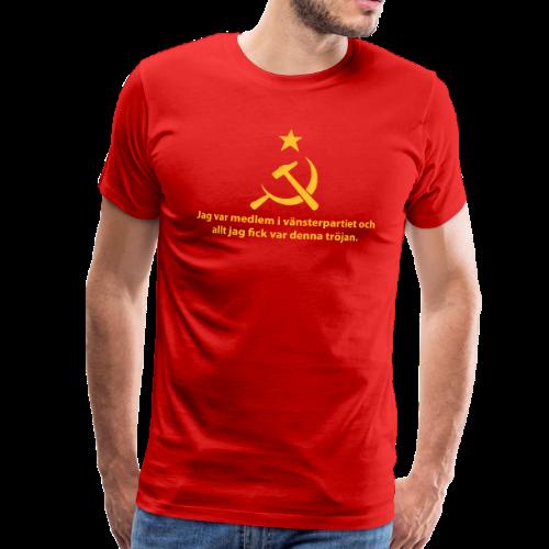 T-shirt Premium, Vänsterpartiet Kommunisterna - Premium-T-shirt herr
