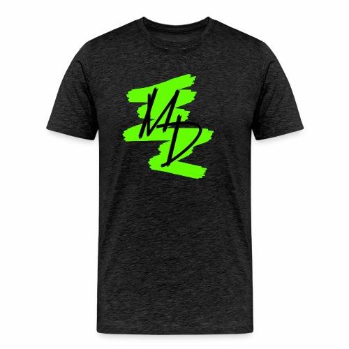 Camiseta premium logo MD original en color verde (Hombre) - Camiseta premium hombre