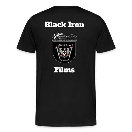 Black Iron Films Shirt - Männer Premium T-Shirt