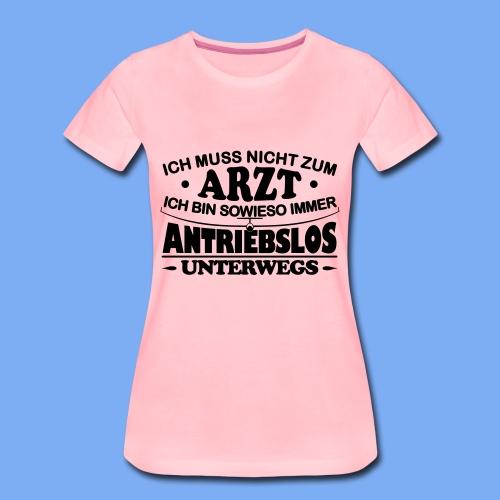 Segelflieger Arzt Geschenk - Women's Premium T-Shirt