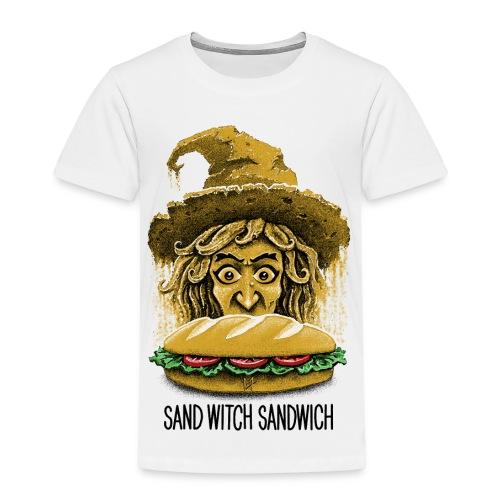 Sand Witch Sandwich V1 - Kids' Premium T-Shirt