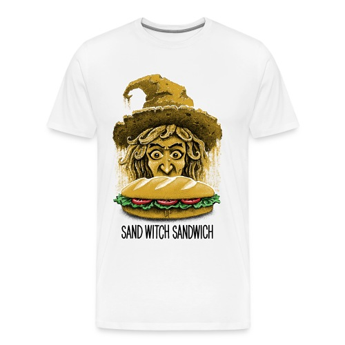 Sand Witch Sandwich V1 - Men's Premium T-Shirt