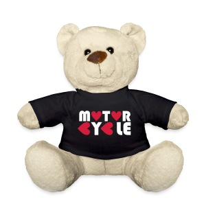 Teddy - Motorcycle - Teddy Bear