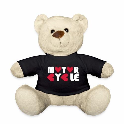 Teddy - Motorcycle - Teddy Bear