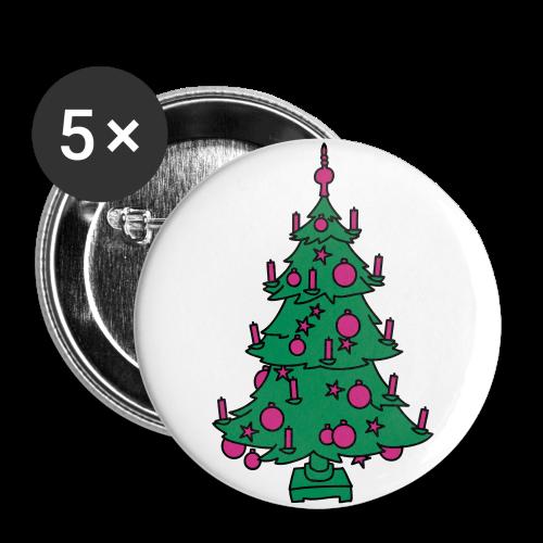 WEIHNACHTSBAUM 3 - Buttons groß 56 mm