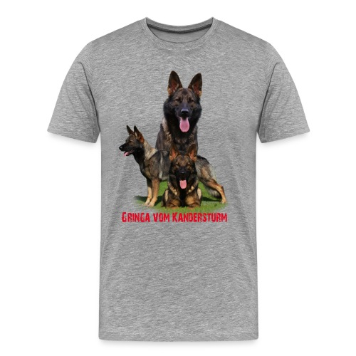 Melanie-Gringa - Männer Premium T-Shirt