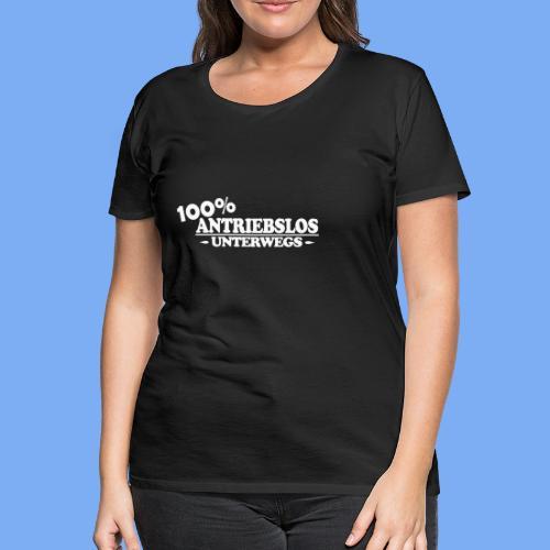 Segelflieger antrieblos - selbst gestalten - Women's Premium T-Shirt