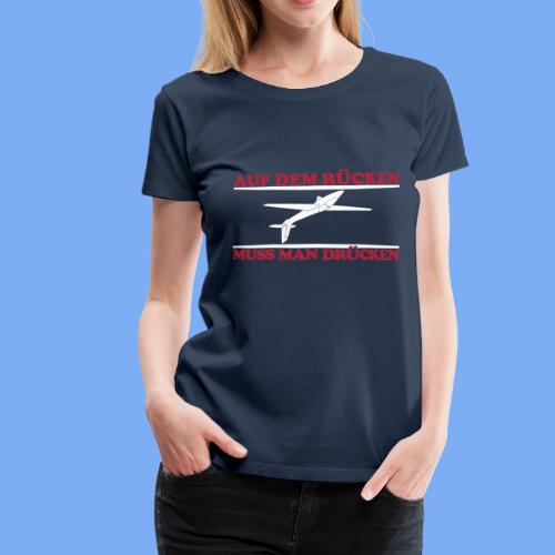 Modellflieger Segelflugkunst - Women's Premium T-Shirt