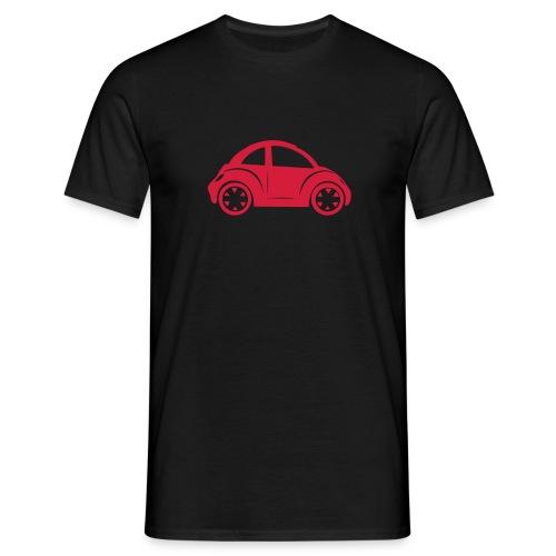 beetle rood - Mannen T-shirt