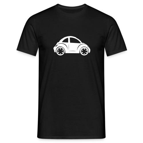 beetle wit - Mannen T-shirt