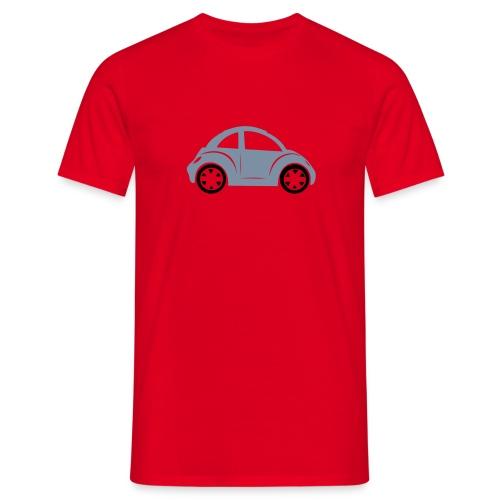 beetle zilver - Mannen T-shirt