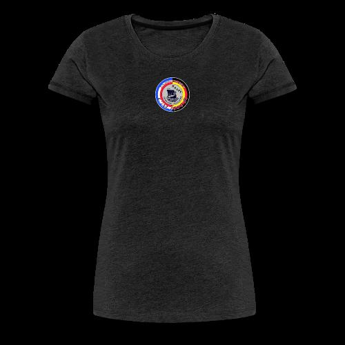 Damen T-Shirt JT 2018 Grey - Frauen Premium T-Shirt