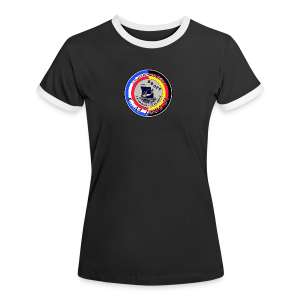 Damen-Retro-Shirt JT 2018 - Frauen Kontrast-T-Shirt