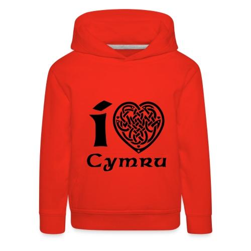 I Love Cymru - Baby Hoodie - Kids' Premium Hoodie