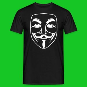 Anonymous heren t-shirt - Mannen T-shirt