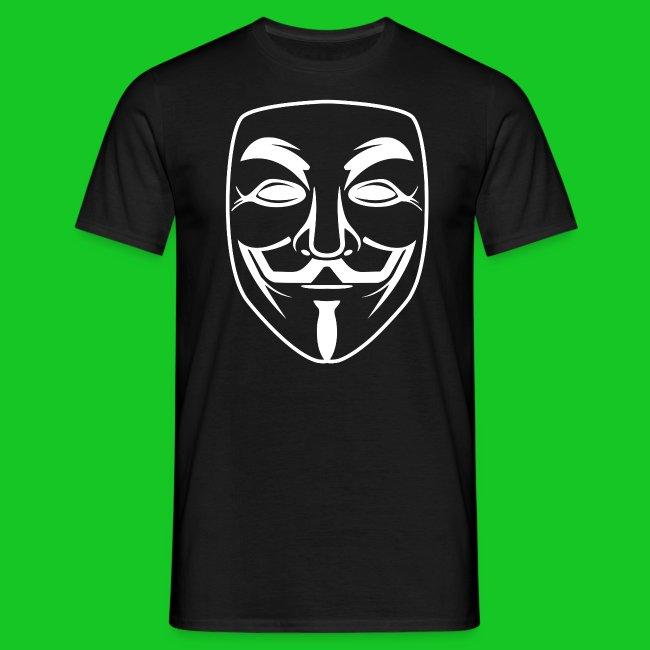 Anonymous heren t-shirt
