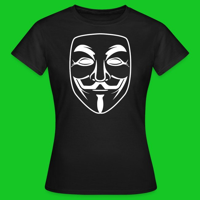 Anonymous dames t-shirt