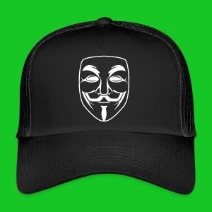 Anonymous cap - Trucker Cap
