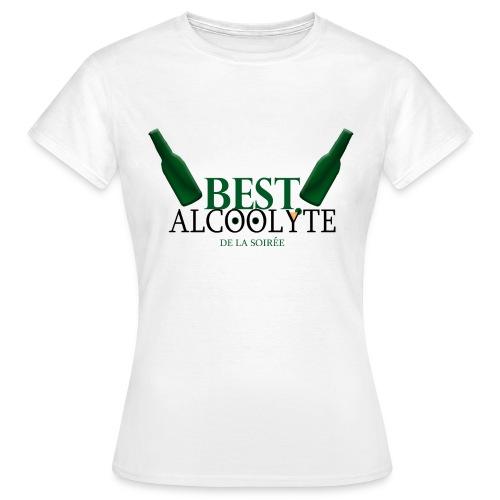 Alcoolyte - T-shirt Femme