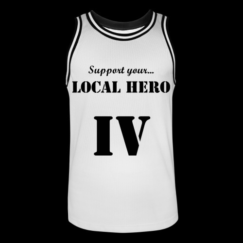 LIMITED IV:XX Support Your Local Hero Basketball Jersey - Basebollinne herr