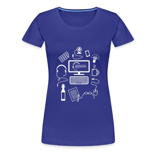 T-Shirt, How to survive - Frauen Premium T-Shirt