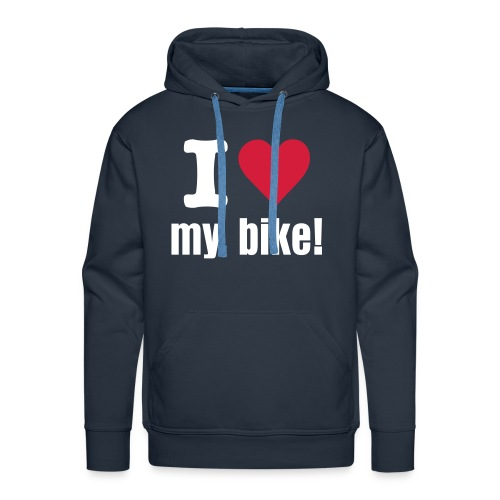 I love my bike, sweater mannen - Mannen Premium hoodie