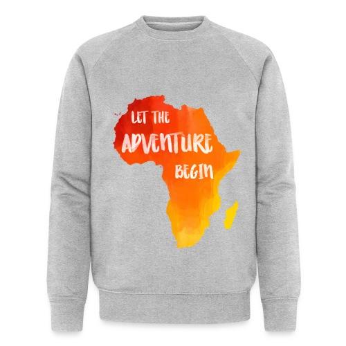 Pulli Afrika Karte Abenteuer - Männer Bio-Sweatshirt von Stanley & Stella