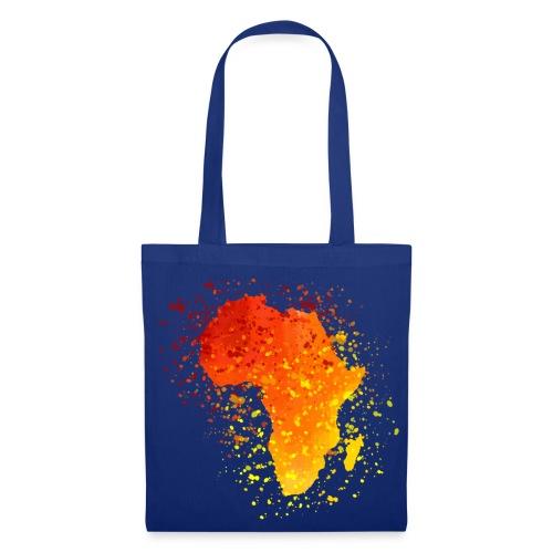 Tasche Afrika Karte - Stoffbeutel