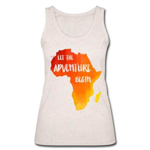 Top Afrika Karte Abenteuer - Frauen Bio Tank Top von Stanley & Stella
