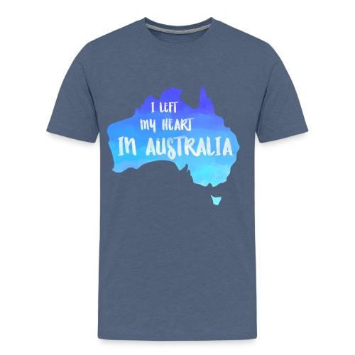 AUSTRALIEN KARTE T-Shirt - Männer Premium T-Shirt