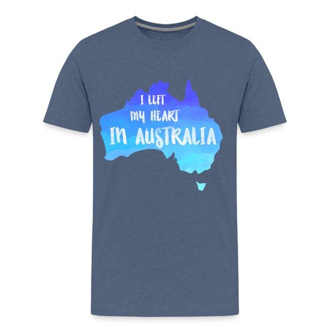 AUSTRALIEN KARTE T-Shirt