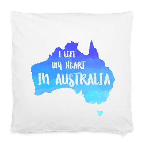 AUSTRALIEN KARTE Kissen - Kissenbezug 40 x 40 cm