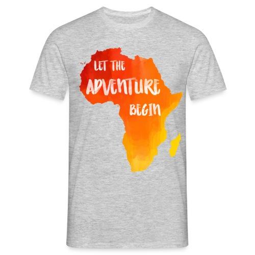 T-Shirt Afrika Karte - Männer T-Shirt