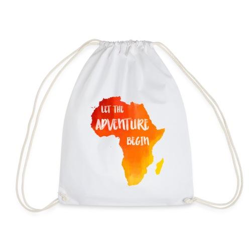 Beutel Afrika Karte - Turnbeutel