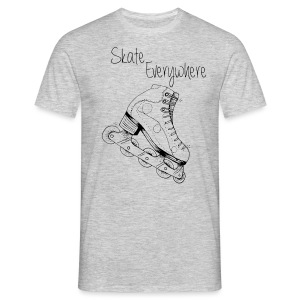 Pic Skate everywhere - T-shirt Homme