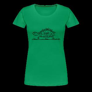 Mein Tempo - Frauen Premium T-Shirt