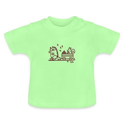 Baby Shirt mit Igel - Baby T-Shirt