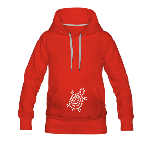 Point Turtle - Frauen Premium Hoodie